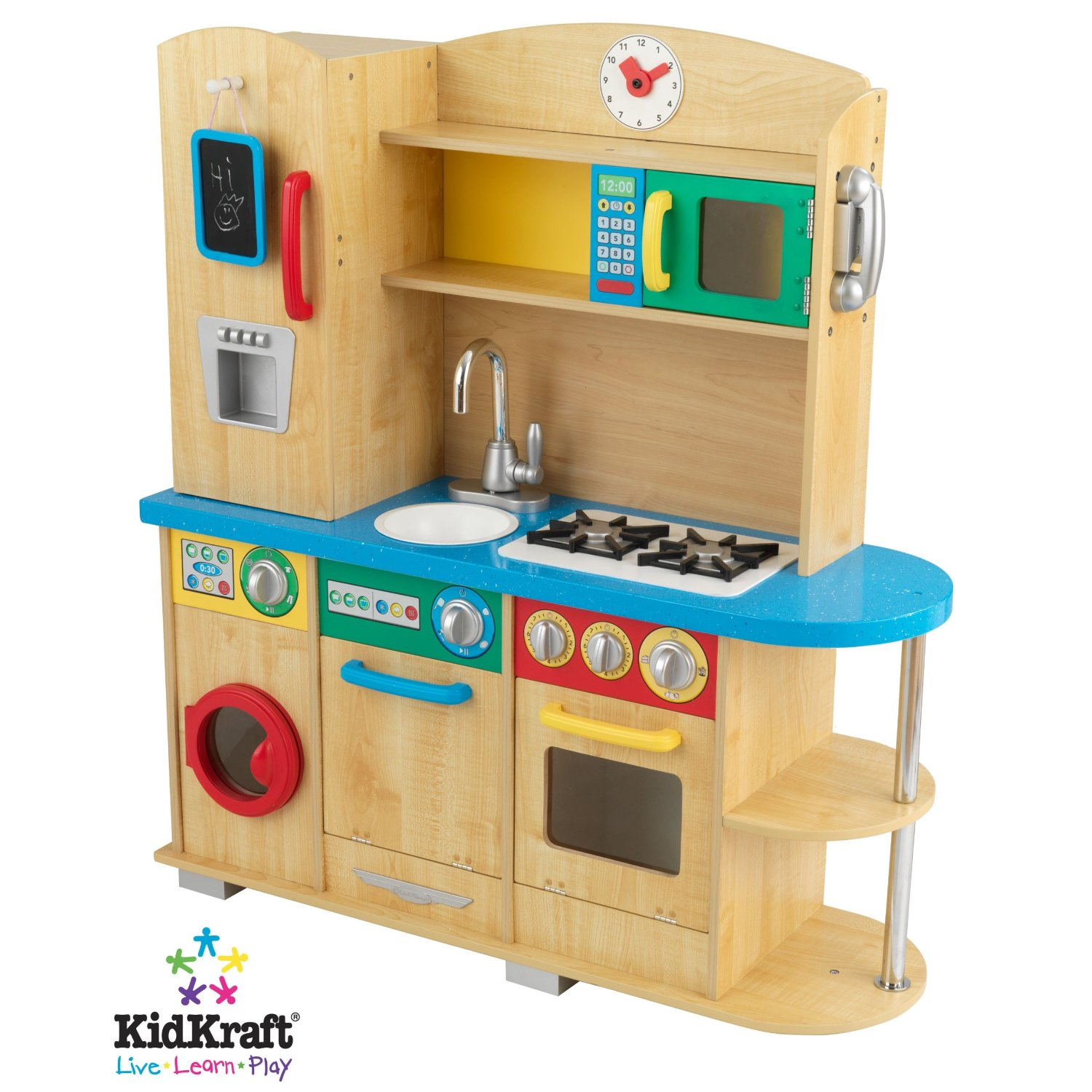 kids craft cook together kitchen