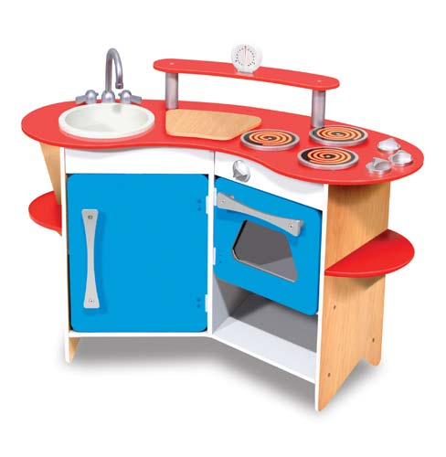 Cook's Corner Wooden Kitchen by Melissa and Doug